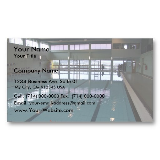 16 best swimming pool business cards images on pinterest pools empty swimming pool business card templates colourmoves