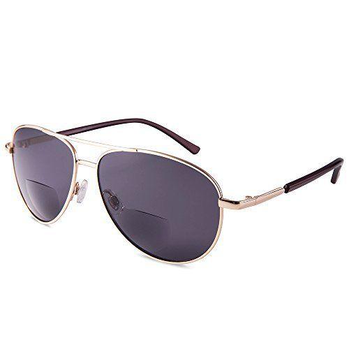 EYEGUARD Unisex Style Classique Lunettes de soleil Bifocales verres Protection UV400 Lunettes de vue en plein air Hommes Femmes: Vous aimez…