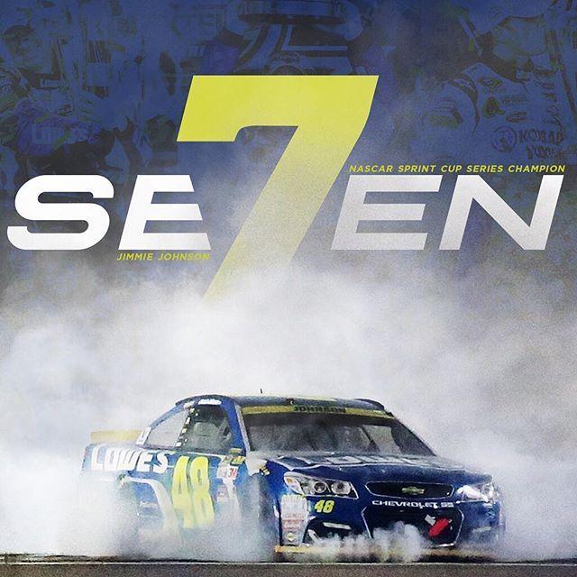 New nickname alert. #se7en #TheChase #NASCAR