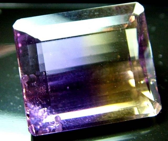 AMETRINE  FROM  BRAZIL 19.90 CTS [S4016 ]  FROM BRAZIL NATURAL AMETRINE GEMSTONE FROM GEMROCKAUCTIONAUCTIONS.COM