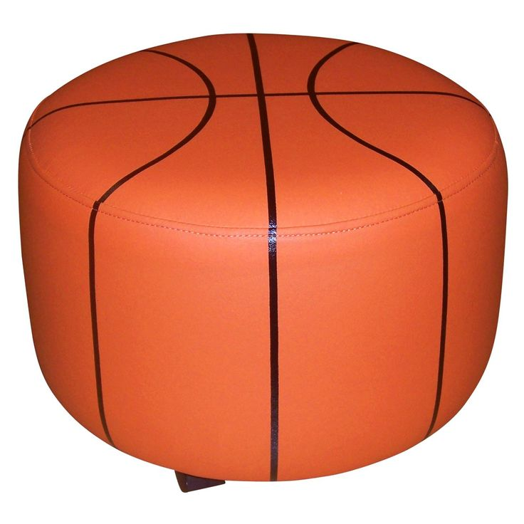 basketball ottoman mason 39 s big boy room pinterest ottomans room and basketball room. Black Bedroom Furniture Sets. Home Design Ideas