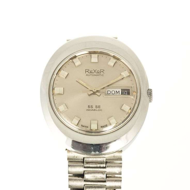 Rexor 55SE automatic watch with original metal strap