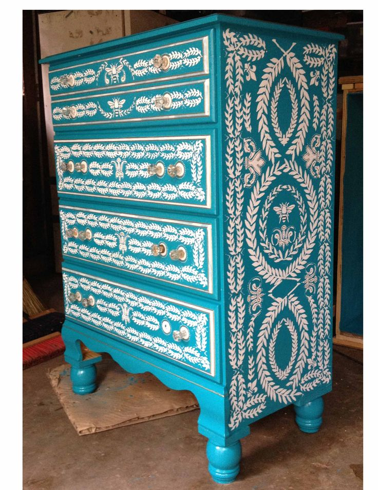 The 90 best images about paint it beautiful on pinterest for Hand painted furniture