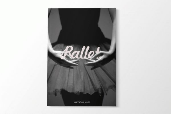 Glossary of Ballet by Bianca Luyt, via Behance
