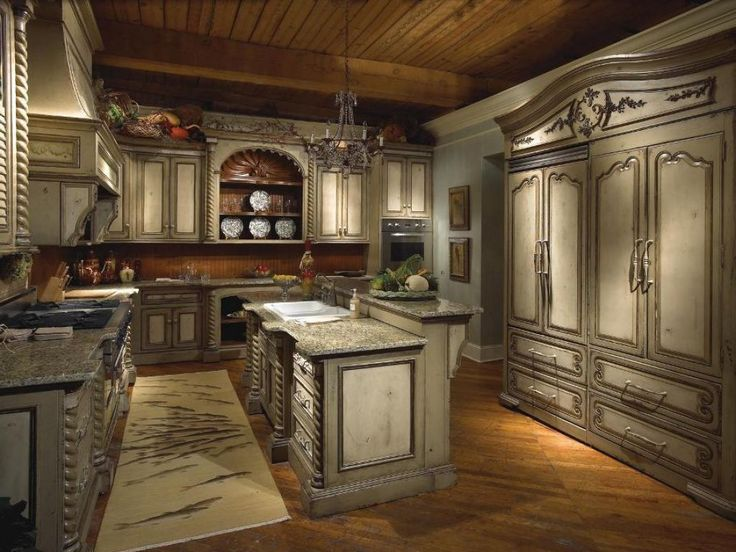 38 best kitchen delight images on pinterest home ideas for Old world style kitchen