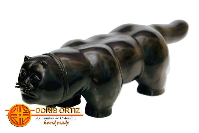 Artesanías colombianas y esculturas y obras de botero, Doris Ortiz