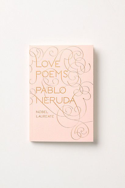 Love Poems  #anthropologie Wouldn't it be just amazing to receive a love poem today?