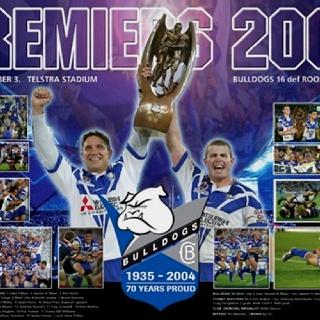 2004 NRL Premiers - Canterbury Bankstown Bulldogs