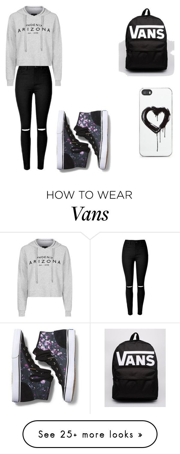 """""""Lazy vans day"""" by jacenormanisbae7 on Polyvore featuring Topshop, Keds, Vans, Zero Gravity, women's clothing, women, female, woman, misses and juniors"""