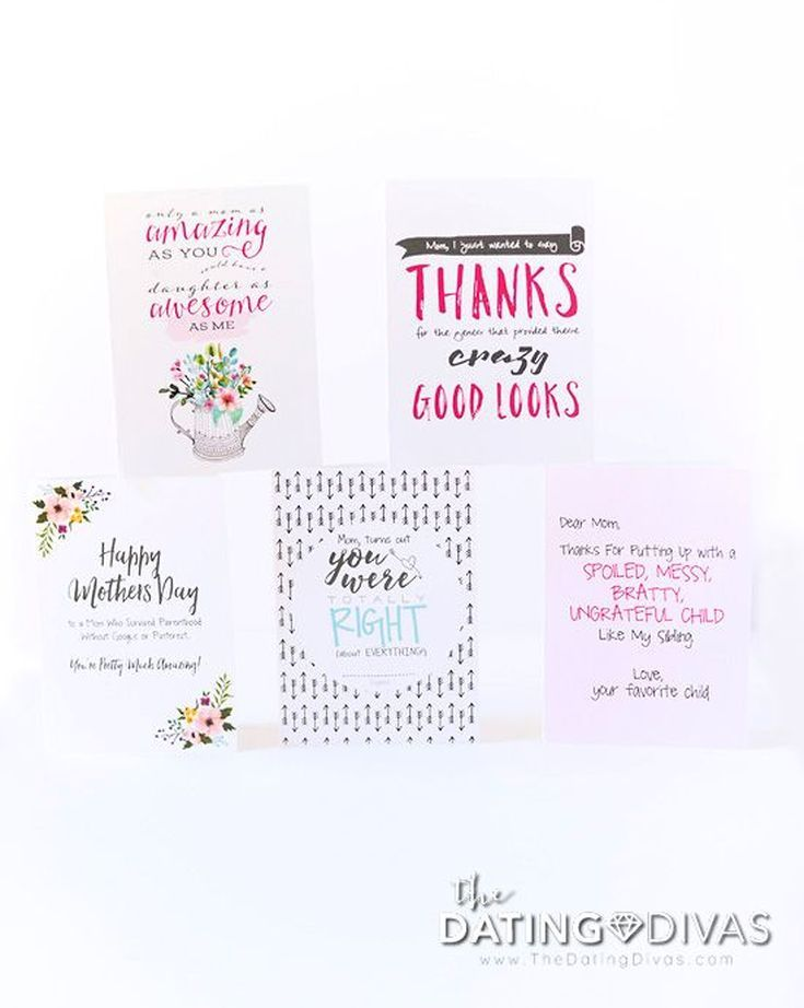 33 Free Printable Mothers Day Cards Shell Love
