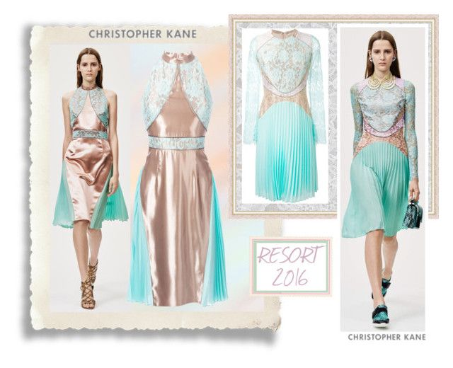 Christopher Kane Resort 2016! by whirlypath on Polyvore featuring Christopher Kane