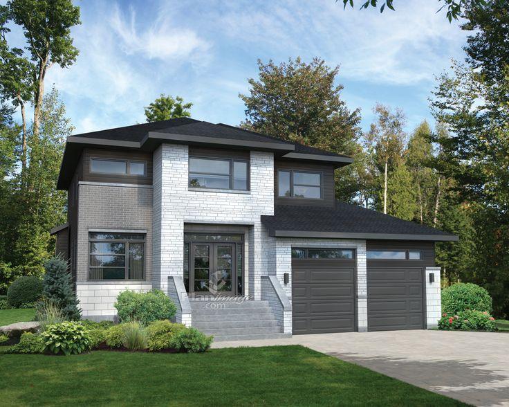 57 best images about plans maison meilleurs vendeurs on for Largeur garage double