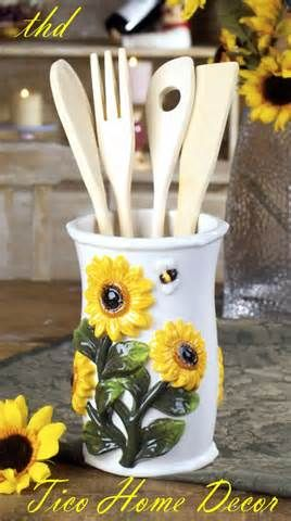 Maybe a Sunflower themed kitchen?