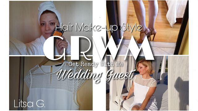 Ετοιμαστείτε μαζί μου! Είμαι καλεσμένη σε καλοκαιρινό γάμο και σας δείχνω όλη την προετοιμασία μου. Μαλλιά, περιποίηση, μακιγιάζ, και στυλ δείτε τα όλα εδώ...