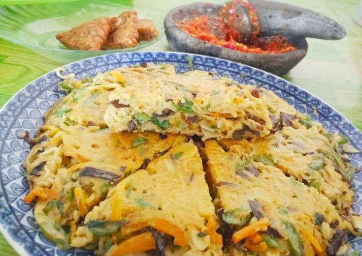 Resep Omelet Mie Sayur