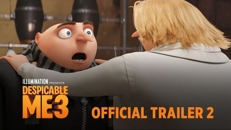 On June 30, 2017, join Gru for his criminal adventures in 'Despicable Me 3' He and his brother tag team for one more heist. #movies #entertainment