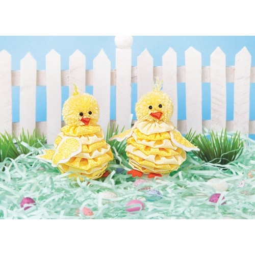 Yo Yo Baby Chicks Craft Kit