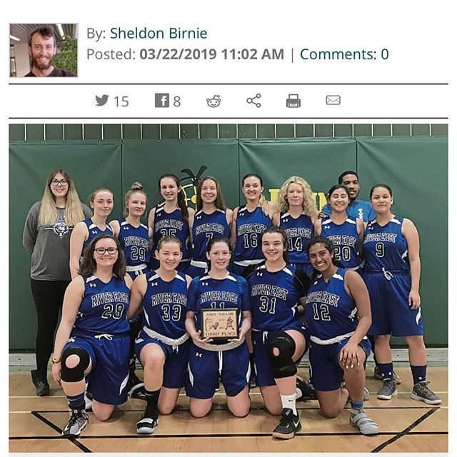 Wfp Despite Not Taking Home Any Banners This Season The River East Collegiate Girls Varsity Basketball Team Proved They C Basketball Teams Varsity Basketball
