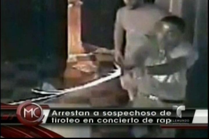 Arrestan A Sospechoso De Armar Un Tiroteo En Un Concierto De Rap