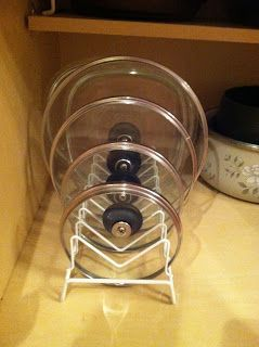 Simply Homemade: Organizing Pots and Pan Lids