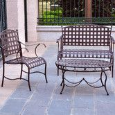 Found it at Wayfair - Santa Fe Iron Patio 3 Piece Lounge Seating Group  $384.95 & free shipping