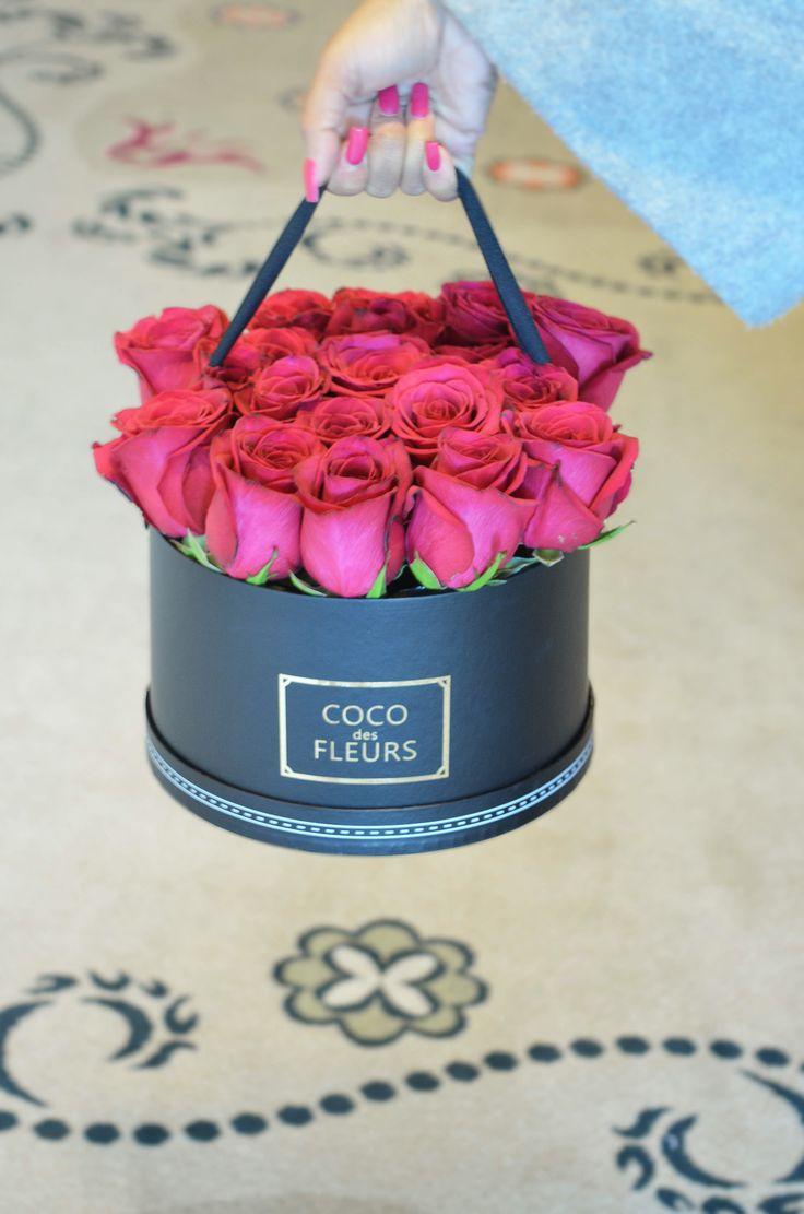 COCO des FLEURS  #boxedroses #beautifulroses #luxuryboxedroses #cocodesfleurs #cocoluxur #deeppink #hotpink #redroses #blushroses #langhamhotel #hightea #bridalgifts #bridesmaids www.cocoluxur.com.au