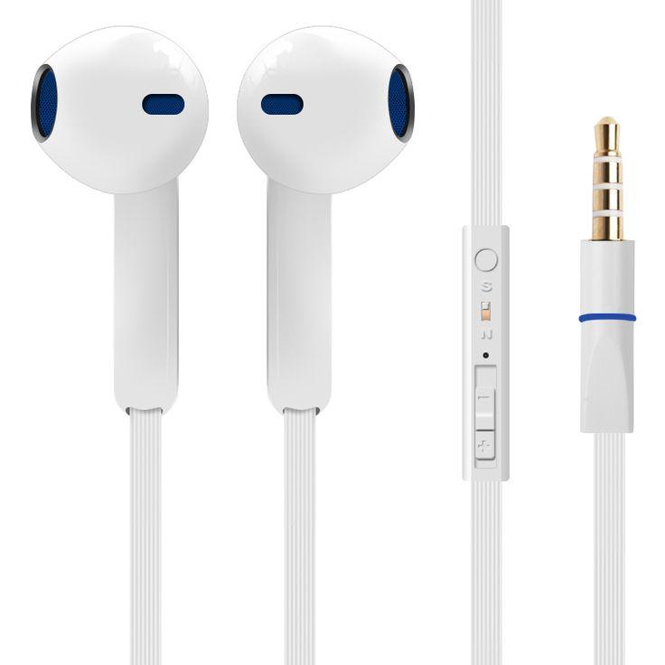 Ypz-et300 alta calidad 3.5mm auriculares super bass auriculares con micrófono para iphone 5 5s 6 plus samsung mp3