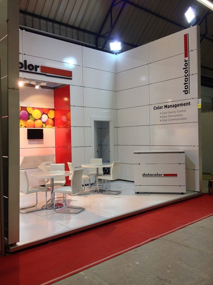 Datacolor - Plast Eurasia 2013 Exhibition stand.