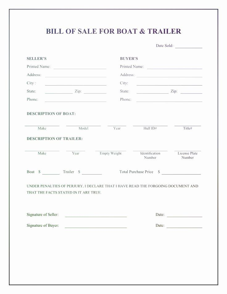 Boat Bill Of Sale Form New Pin On Bill Sale Alberta Template Bill Of Sale Template Template Printable Word Template