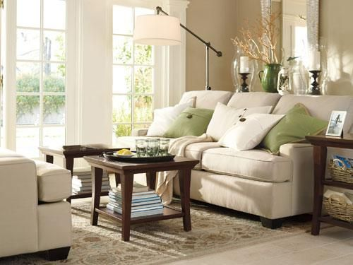 more ideas for home decoration design inspiration exciting family room decorating ideas with cream sectional sofa feat green and white cushions teak wood