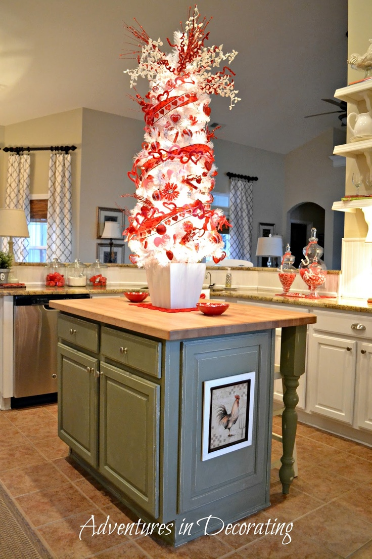Adventures In Decorating Our Fall Kitchen: 15 Best Images About Valentine Decorating On Pinterest