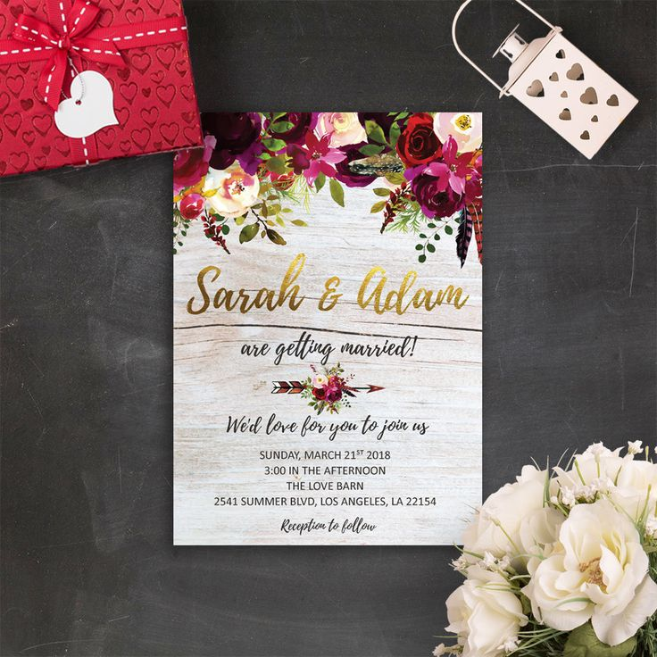 wedding invitation email free%0A Floral Bohemian Wedding Invitations Marsala Wedding Invitation Suite Rustic  Barn Wedding Invitation Hippie Wedding Burgundy Wedding