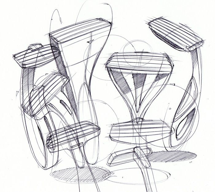 Sketches of Mens Razors by Spencer Nugent