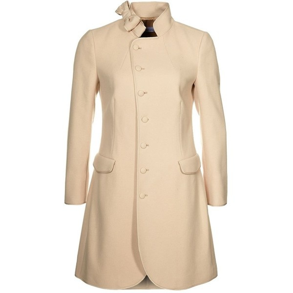 valentino cream coat