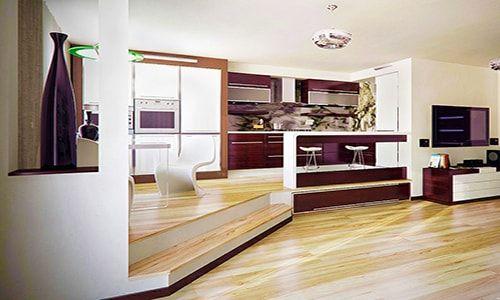 Как сделать подиум в квартире: фото интерьеров с подиумами