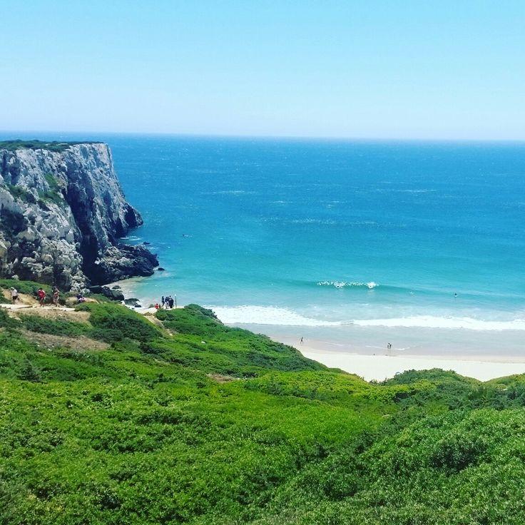 Enjoying the wild West coast of the Algarve