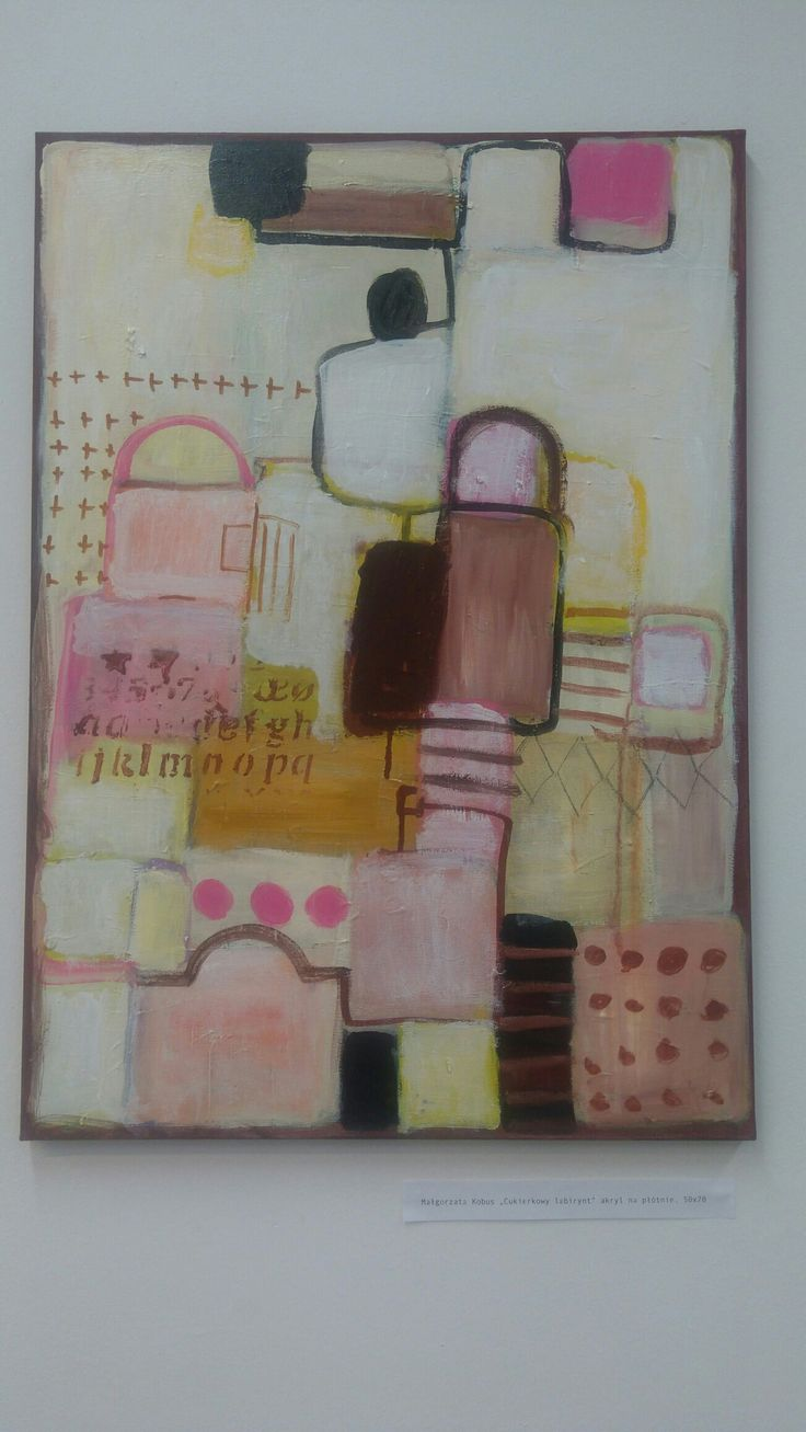 #kobus#malgorzata#abstract painting#candy labirynthe