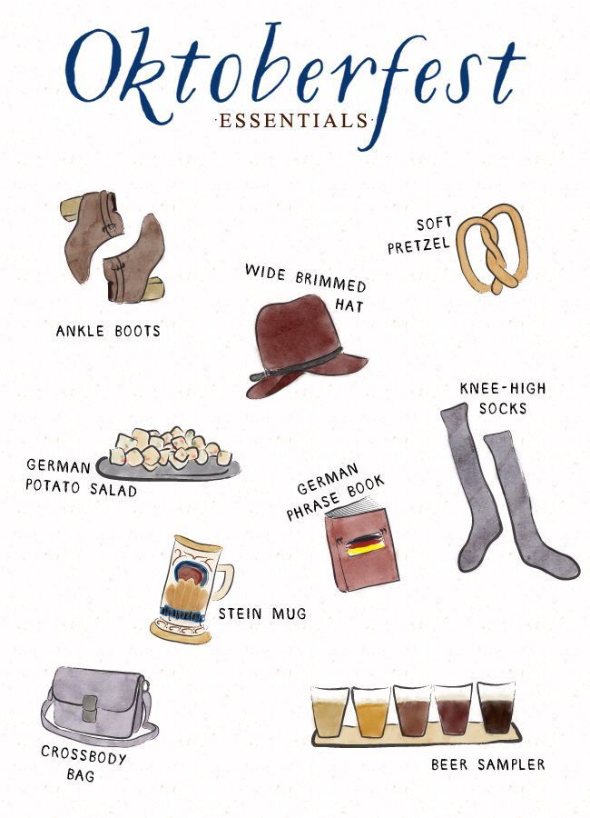 Oktoberfest Essentials!