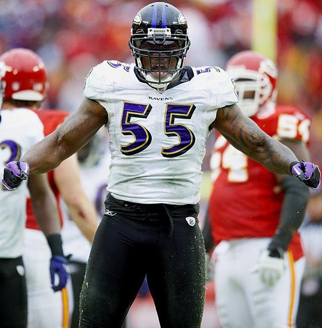 Terrell Suggs, Baltimore Ravens