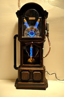 Steampunk Flux Capacitor.