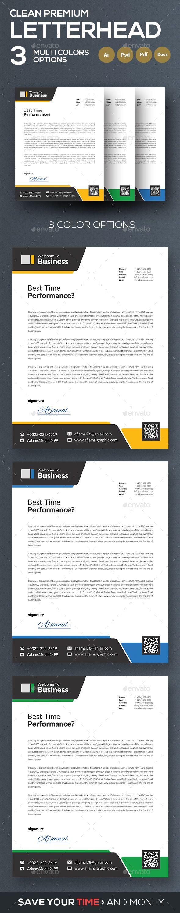 downloadable letterhead templates
