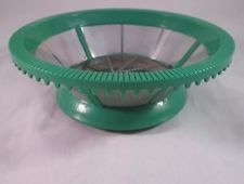 Juiceman Jr JM-1 Juicer Blade Strainer Basket Replacement Original Part Green