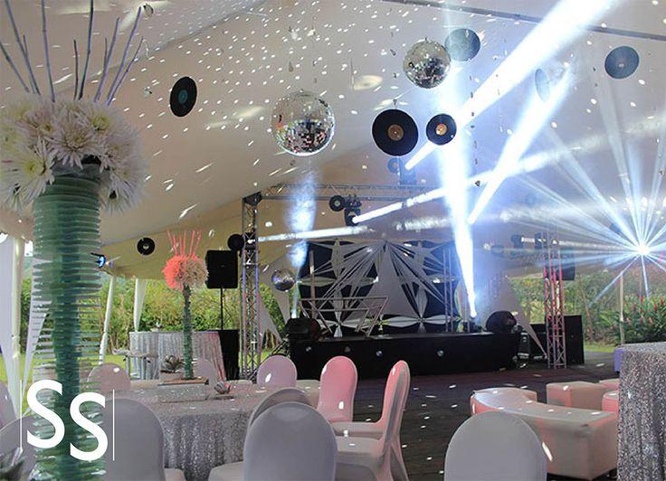 Decoración Disco/ Disco Decoration