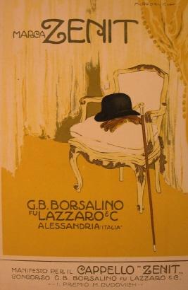 Borsalino Zenit 1911 - cartolina