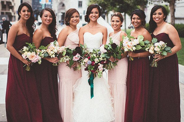 21 Beautiful And Unexpected Bridesmaid Dress Colors