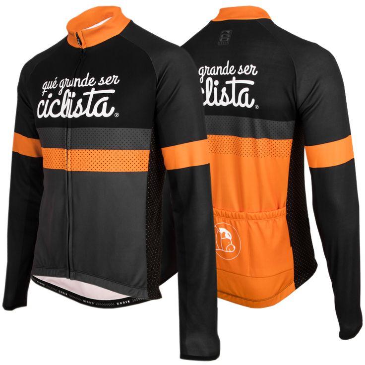 Maillot manga larga #cyclingjersey