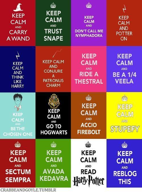keep calm (harry potter)
