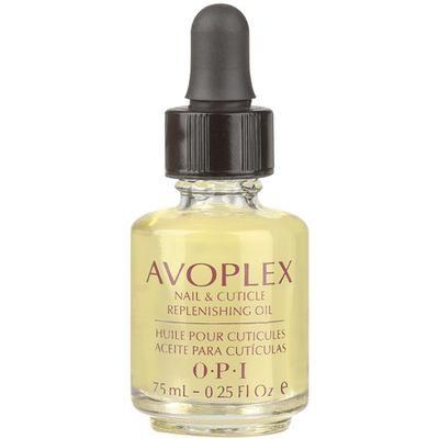 OPI Avoplex Nail/Cuticle Oil fugter og blødgør neglebåndet med sit indhold af bl.a. avokadoolie og E-vitamin.