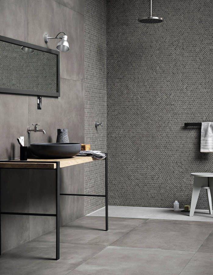 une salle de bains design avec douche ouverte - Salle De Bain Ouverte Sur Chambre Design