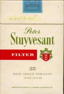 het meest bekenste merk filtersigaretten